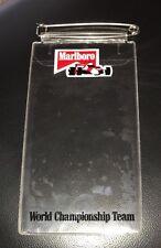 Vintage Marlboro World Championship Racing Team Ticket Holder 1980's