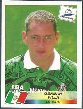 PANINI WORLD CUP FRANCE 1998- #365-MEXICO-GERMAN VILLA