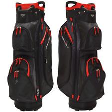 Powerbilt TPX 14 Way Divider Golf Cart Trolley Bag + Putter Pit & Drinks Cooler