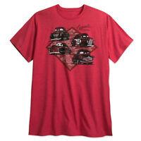 Disney Store Authentic Cars 3 Doc Hudson Mens T Shirt Plus Size 3XL 4XL New