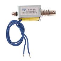 Linear Motion Pull Push Type Solenoid Electromagnet for Household Appliance