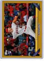 Griffin Canning 2019 Topps Archives 5x7 Gold #292 RC /10 Angels
