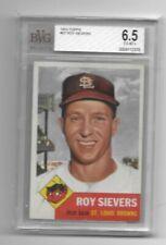 Roy Sievers 1953 Topps BVG 6.5 Ex-Mt+