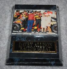"DAVEY ALLISON NASCAR RACING 4"" x 6"" SPORTS PLAQUE"