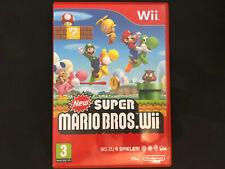 New Super Mario Bros Nintendo Wii - sehr guter Zustand