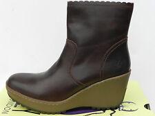 Fly London Moma Chaussures Femme 40 Bottines Montantes Bottes Motardes UK7 Neuf