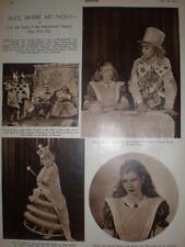 Theatre article Alice Where Art Thou New York 1947