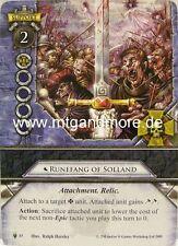 Warhammer Invasion - 1x Runefang of Solland  #085 - The Warpstone Chronicles