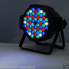 PAR LED 54X1W PAR 64 RGB LIGHTING DJ PARTY DISCO SPOT LAMP STAGE LIGHT DMX SHOW