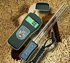MOISTURE METER LANCE WOOD PELLETS BIOMASS CHIP FIREWOOD PROBE HUMIDITY F05
