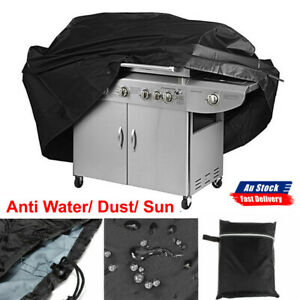 BBQ Cover 4 Burner Weather Proof Tear Resistant 170cm Outdoor Grill Protector AU