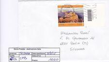 STORIA POSTALE - REPUBBLICA ISOLATI - PEI0132 - CODICI BARRE SVIZZERA - 10.00€