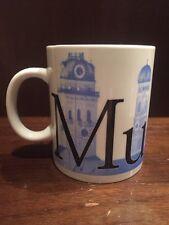 Starbucks Coffee City Mug Collector Series Munich Germany 16oz