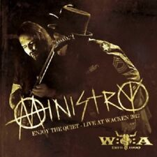 MINISTRY - ENJOY THE QUIET-LIVE AT WACKEN 2012  (CD)  INDUSTRIAL METAL  NEW+