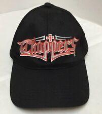 CHOPPERS Baseball Cap Hat Black Adjustable Strap-Back OSFA
