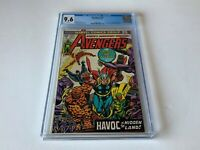 AVENGERS 127 CGC 9.6 WHITE PS 1ST ULTRON 7 INHUMANS FANTASTIC FOUR MARVEL COMICS