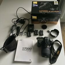 NIKON D7000 16.2MP DSLR Camera with 18-105mm Lens and more - 5564 shutter count