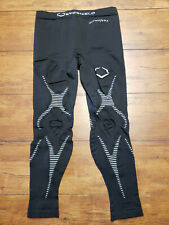Evoshield Men's X-Large Compression Tights Black Active DNA Recovery Warm XL