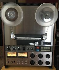 TEAC A 7300 DIRECT DRIVE CAPSTAN REEL TO REEL.