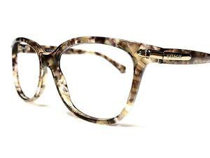 Coach 8132 L109 528713 Women's Confetti Brown Modern Rx Sunglasses Frames 57/17