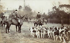 Southwell photo. Fox Hunt & Hounds by H.Barrett, Southwell.