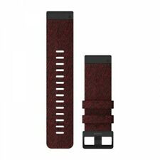 Garmin QuickFit 26 Easy Replace Watch Band in Heathered Red Nylon 010-12864-06