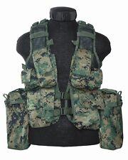 Einsatzweste Tactical 12 Taschen Digital-woodland