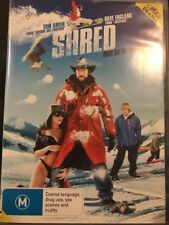 Shred (DVD, 2009) Tom Green, Dave England - Free Post!