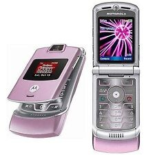 Motorola V3M in PINK RAZR (Verizon)(Page Plus) Cellular Flip Phone PostPaid