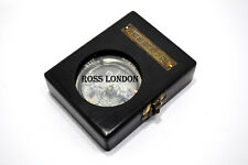 Dollond London Compass Beautiful ROYAL NAVY COMPASS With Black Wooden Box Gift