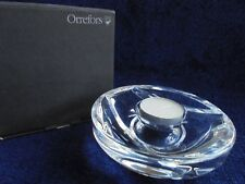 ORREFORS MILANO VOTIVE CANDLE HOLDER NEW IN BOX