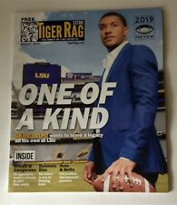 August 2019 Tiger Rag Magazine LSU FOOTBALL PREVIEW ISSUE Grant Delpit Burrow