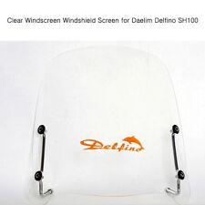 Clear Windscreen Windshield Screen for Daelim Delfino SH100