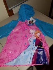 GIRL'S RAINCOAT (SIZE 2-3) 'FROZEN' ELSA & ANNA