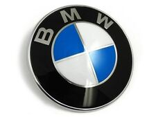 New BMW Bonnet/Boot Badge Emblem 82mm E30 E36 E46 1 2 3 4 5 6 8 series X3 X5 X6