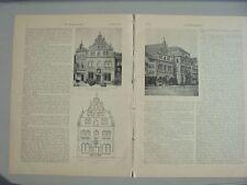 1906 11 Magdeburg Flensburg Schnitzschule Dalsheim