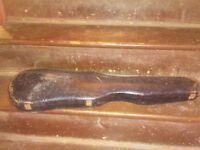 Vintage M&R CO. New Century violin case . parts ir repar .
