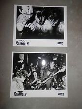 Samhain Initium + November Coming Fire Record Insert Promo Lot Set Photo 8x10