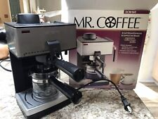 Mr. Coffee Expresso Maker; Stainless Steel and Black Bvmc Ecm260