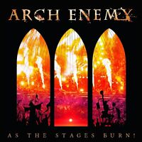 ARCH ENEMY - AS THE STAGES BURN! (SPECIAL EDITION CD+DVD DIGIPAK )   2 CD NEU