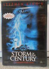 Storm of the Century (DVD, 2004) RARE STEPHEN KING HORROR MYSTERY BRAND NEW