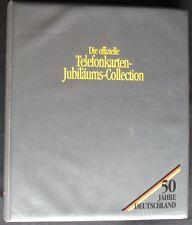 Schede telefoniche album 50 anni Germania 24 diversi MINT/inutilizzato **