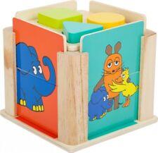 """Steckbox """"Die Maus"""" von Legler Motorikspielzeug Holzpielzeug Bauklötze Lernspiel"""