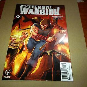 WRATH OF THE ETERNAL WARRIOR #12 C 1:20 HENRY VARIANT Valiant Comics 1st Print
