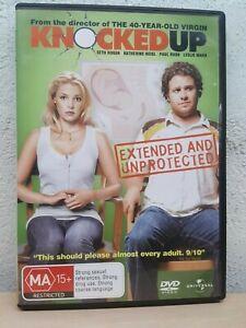 KNOCKED UP DVD - Seth Rogan, Katherine Heigl - FAST FREE POSTAGE