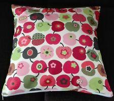 Kissenhülle, Kissenbezug 40x40 cm, Apfel retro, Dekokissen, Handarbeit, Äpfel