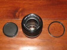 Canon FD 50mm f1.4 S.S.C SSC MF Lens EXCELENT COND.