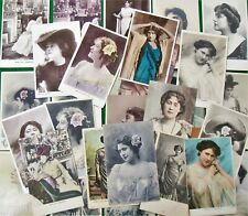 Collection 30 Postcards of  Miss Lily Hanbury Edwardian Theatre Show Actress
