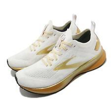 Brooks парящем 4 Победа выпуск белое золото женские дорожные кроссовки 1203351B102