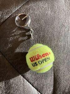 Wilson US Open mini Tennis Ball Keychain New.